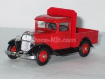Ford Model a Pick-up vermelha