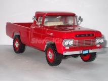 Ford Pick-up F-250 de 1959 vermelha