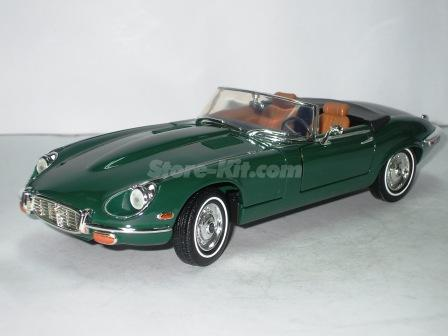 jaguar e type cabriolet de 1971 verde storekit. Black Bedroom Furniture Sets. Home Design Ideas